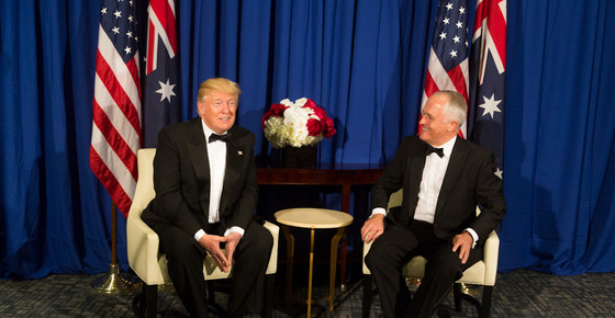 Annual Dinner - Australia and the World Order: What Order, What Rules?