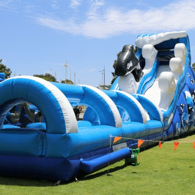 Pacific slide inflatable water slide perth