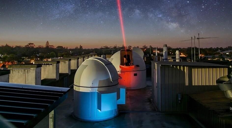 Optical ground station uwa