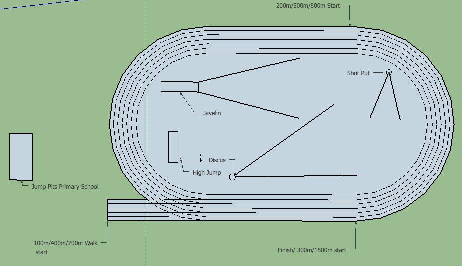 Track And Field Layout Ashburton Little Athletics Centre Inc Tidyhq