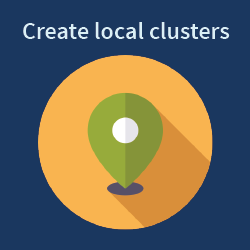 Create local clusters