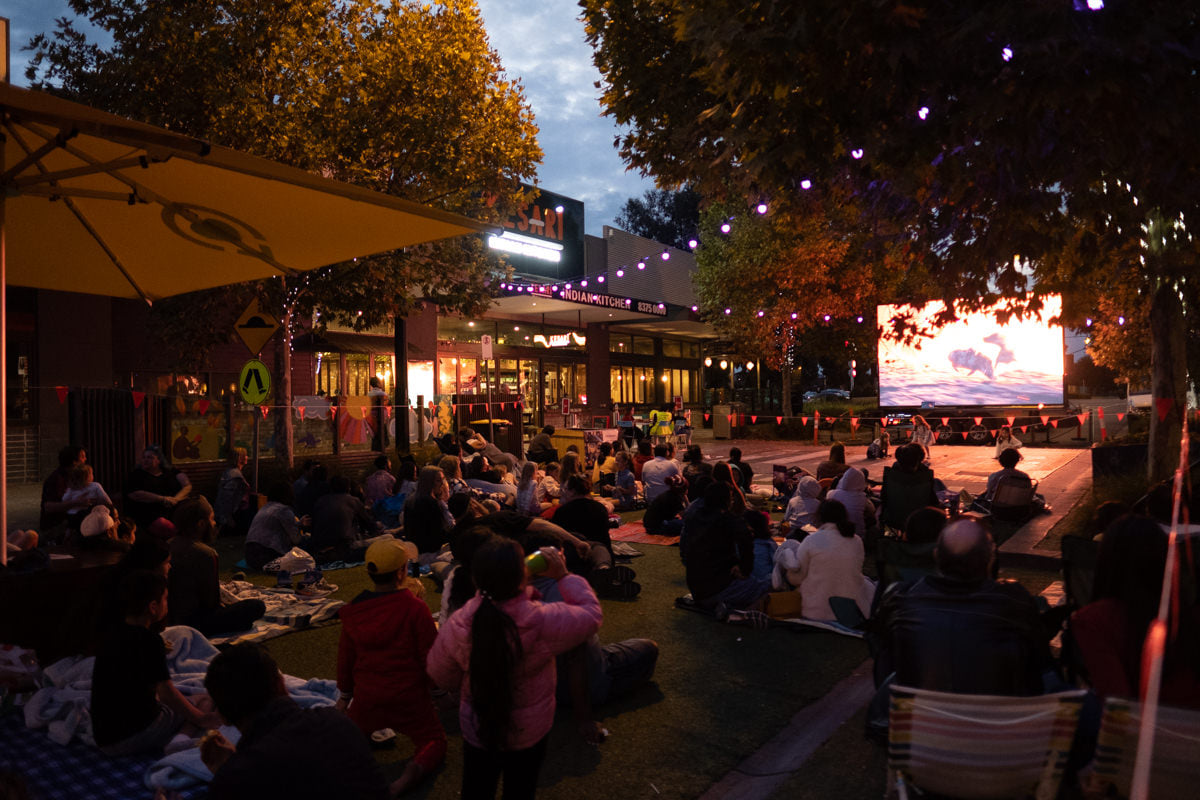 Movie Nights at Point Cook Pop Up