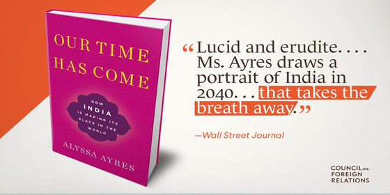 Our time has come book cover   with wsj review quote stretched