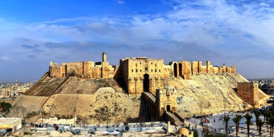 Treasures of Aleppo and Palmyra: destruction and survival