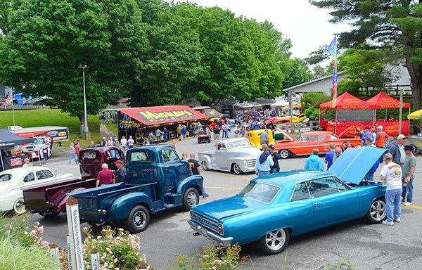 Rhinebeck Ny Good Guys Car Show