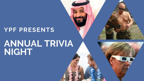Young Professionals Forum - Annual Trivia Night
