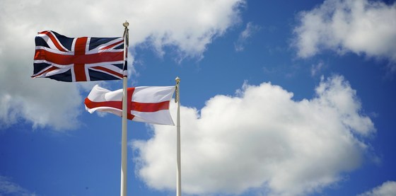 Union flag and st georges cross2