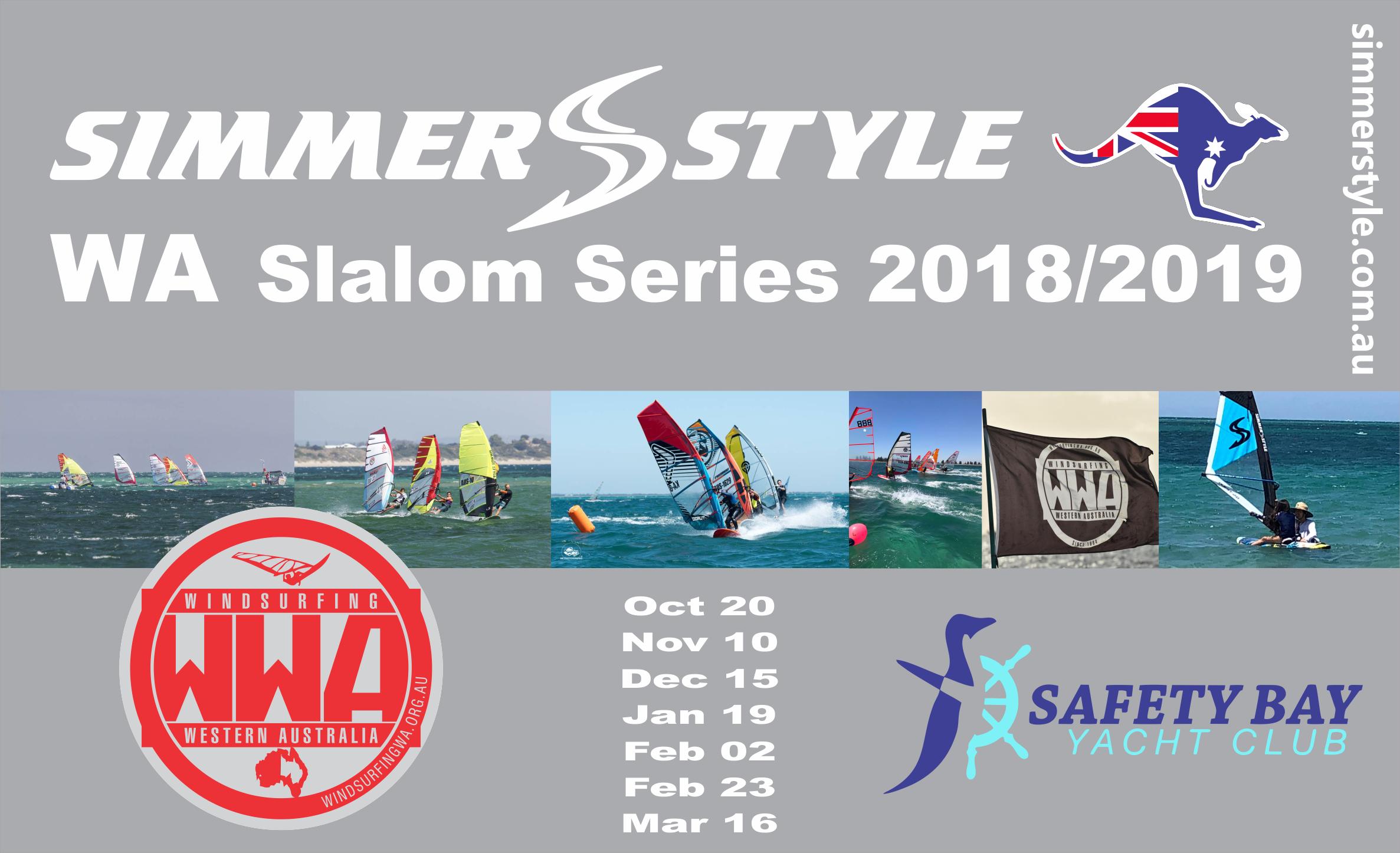 Simmer Style Slalom Series 2018 - 2019 | Windsurfing Western