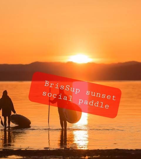 Brissup sunset social paddle